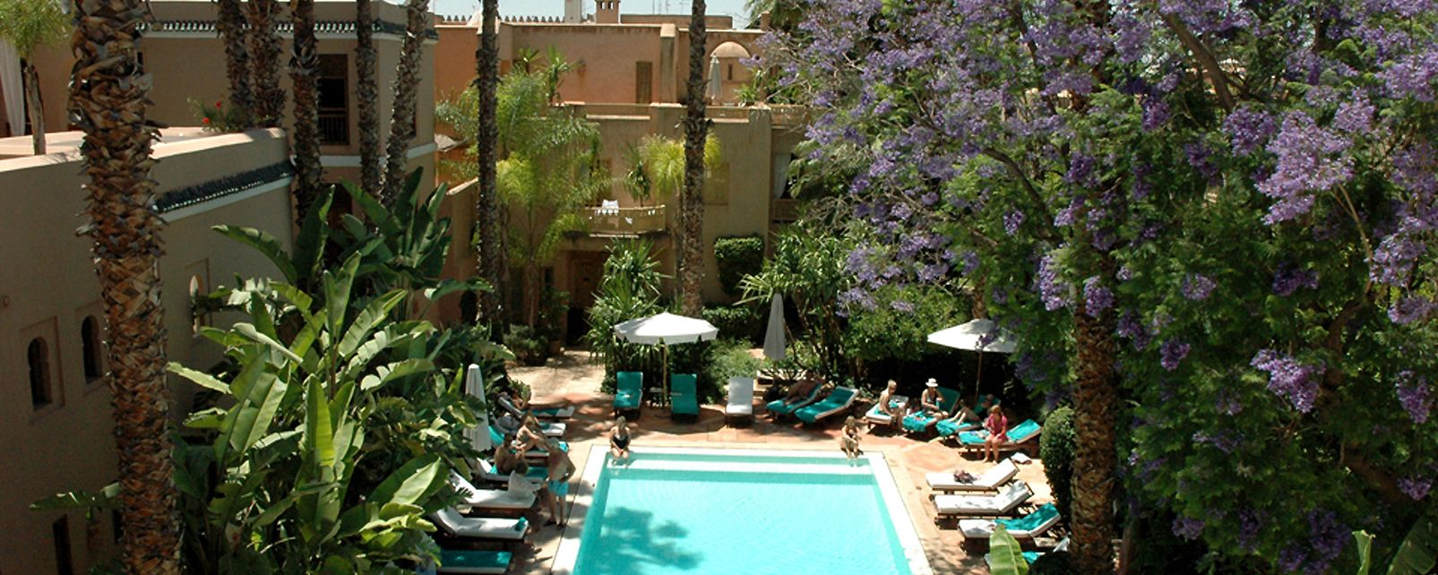 Hotel les jardins de la m dina in marrakech morocco for Cafe le jardin marrakech
