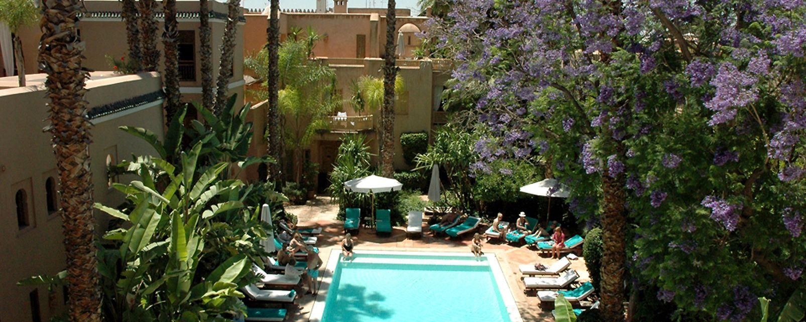 H Tel Les Jardins De La M Dina Marrakech Maroc