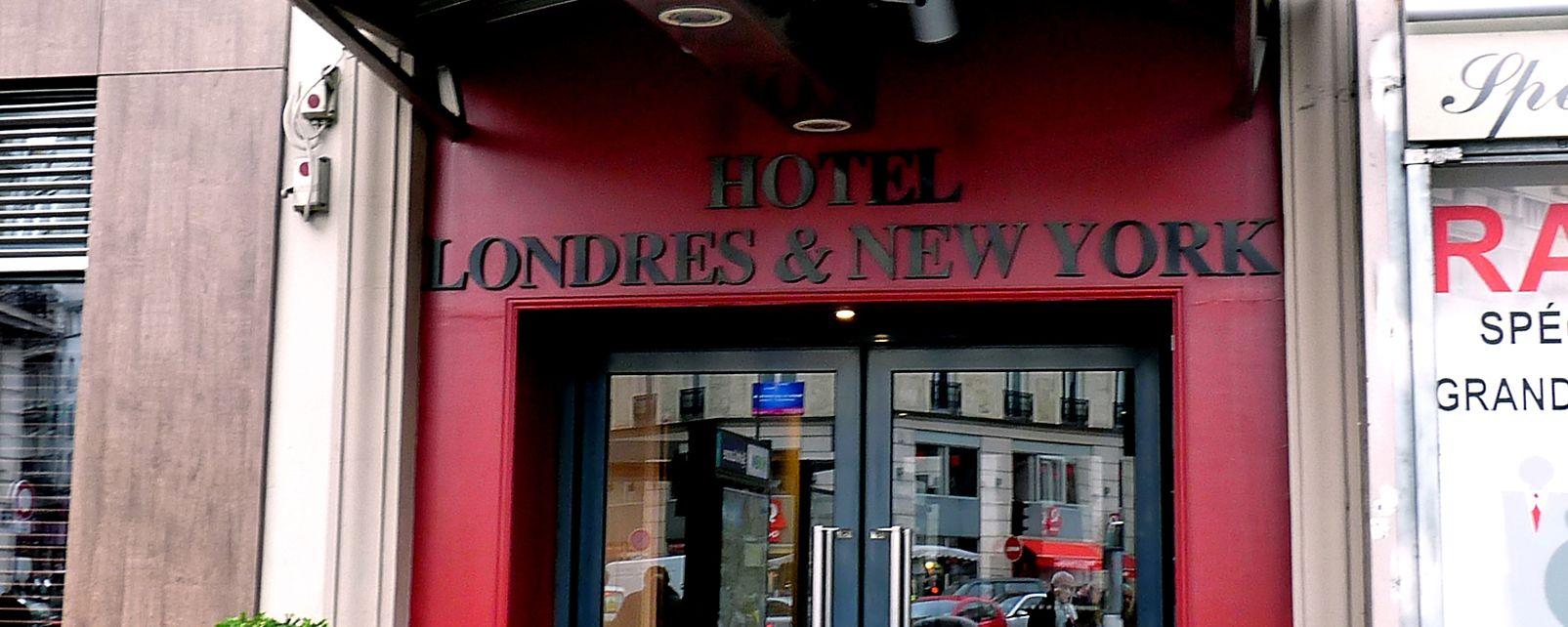hotel londres and new york par s. Black Bedroom Furniture Sets. Home Design Ideas