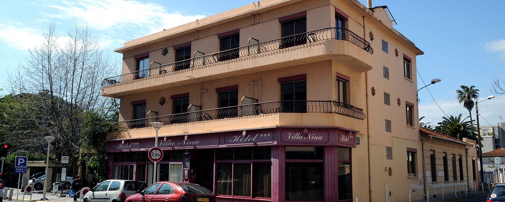 Hôtel Villa Nina Juan les Pins