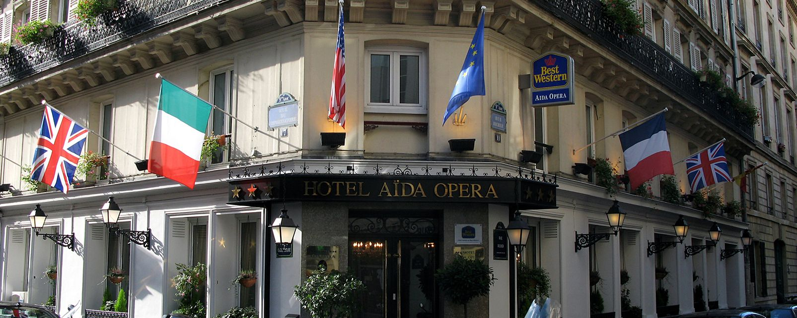 Hotel best western aida opera paris for Hotel best western paris