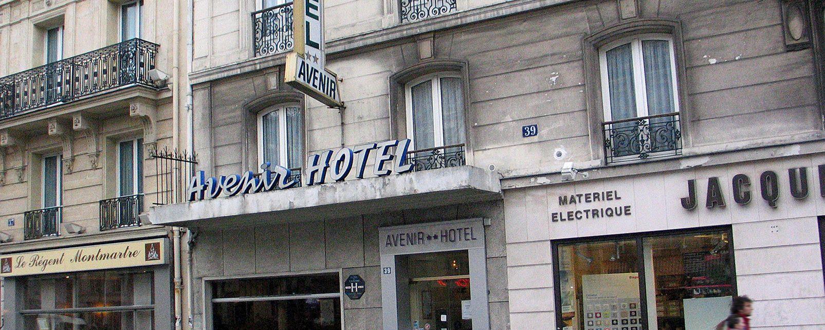 Hotel avenir montmartre paris frankreich for Frankreich hotel paris