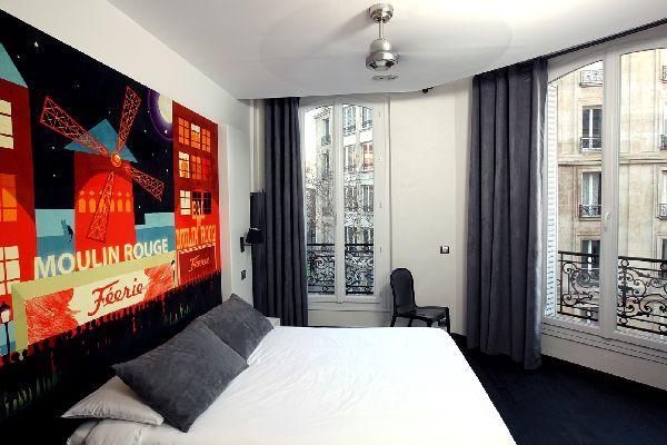 Hotel blc design paris for Hotel blc paris