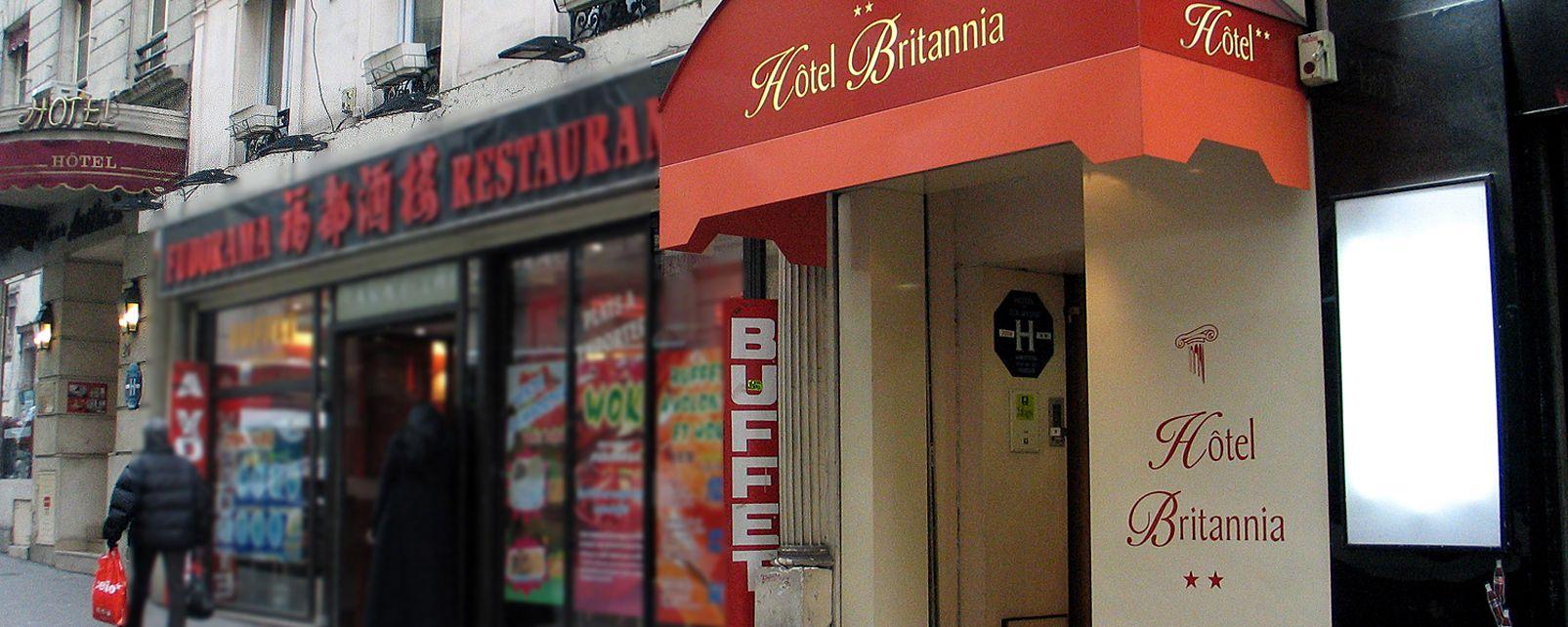 Hotel Logis De France Britannia