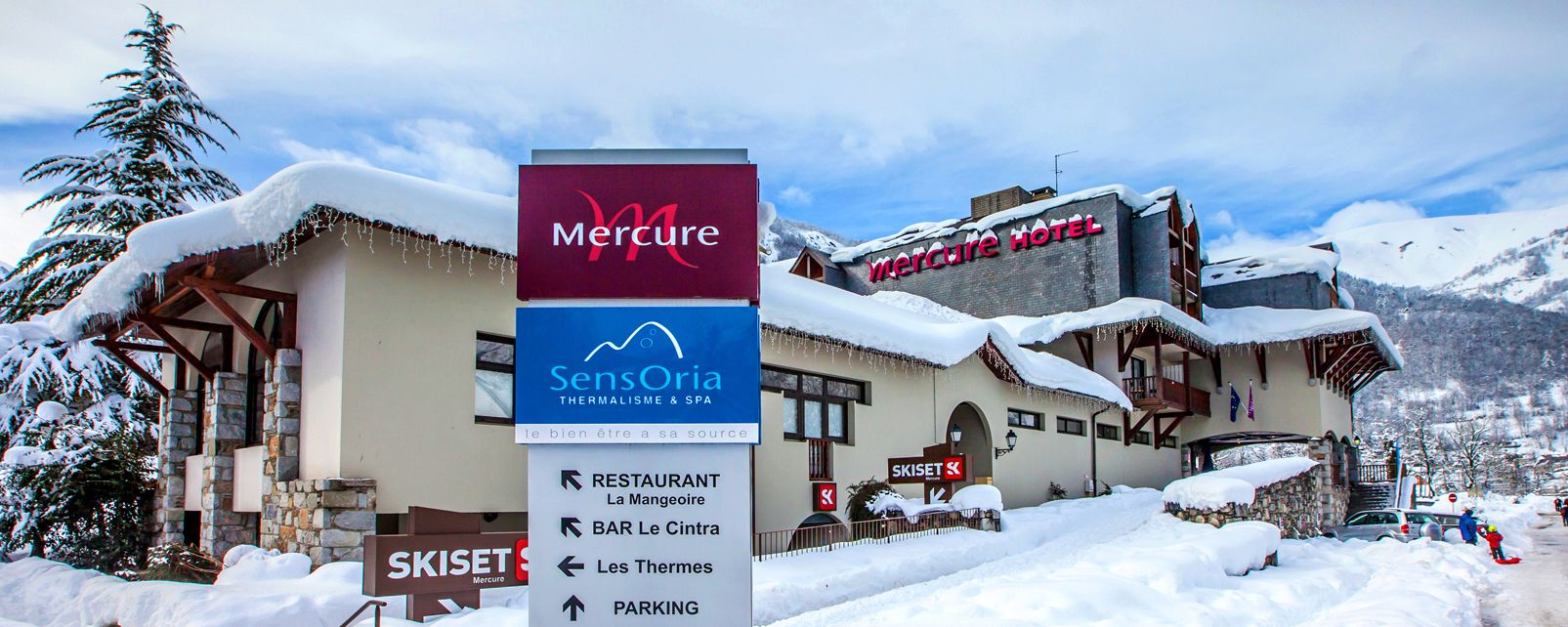 Hôtel Mercure Sensoria St Lary