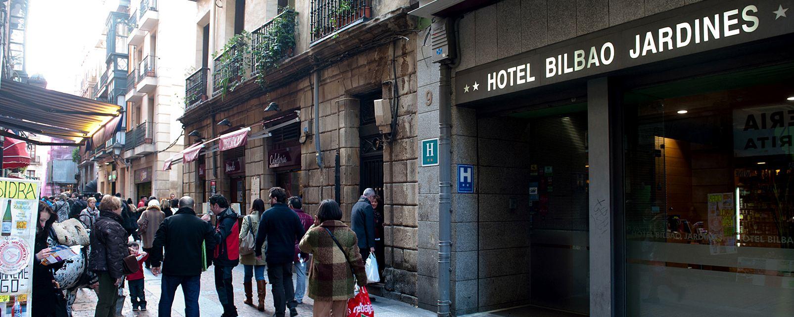 Hôtel Bilbao Jardines