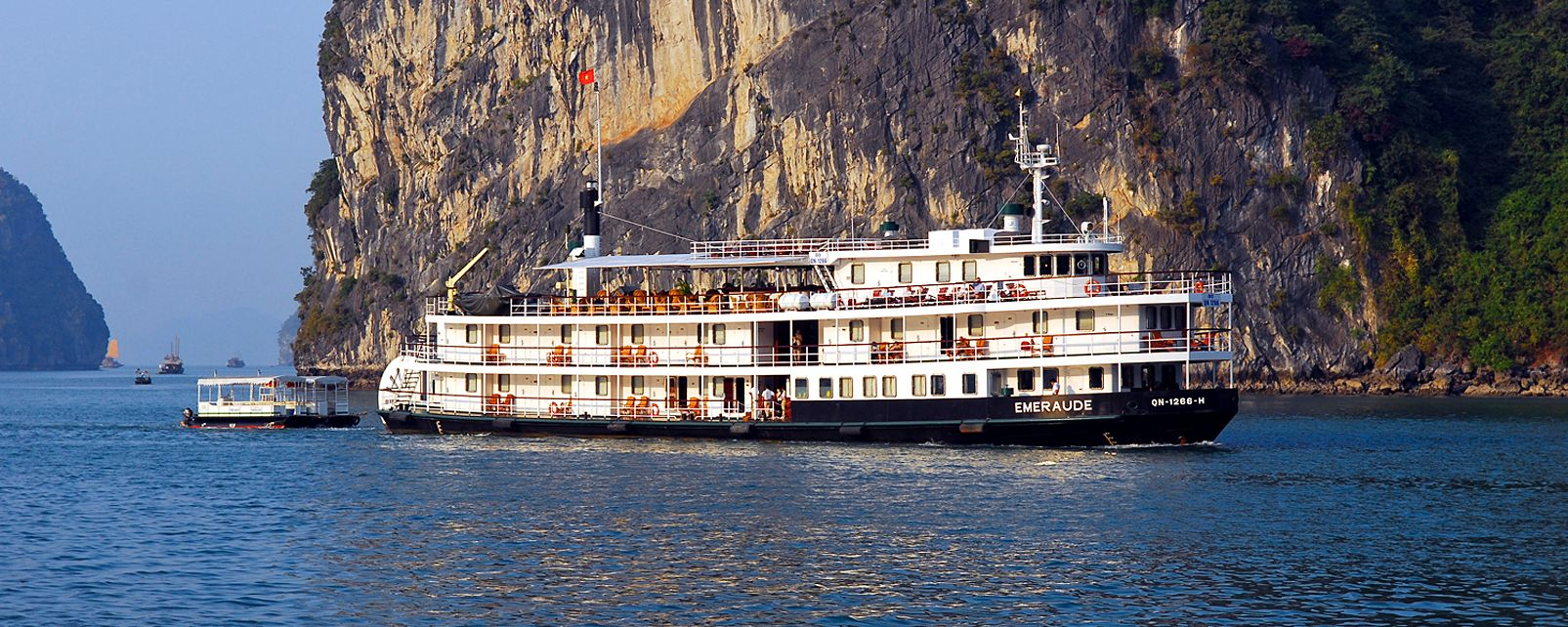 Hôtel Emeraude bateau