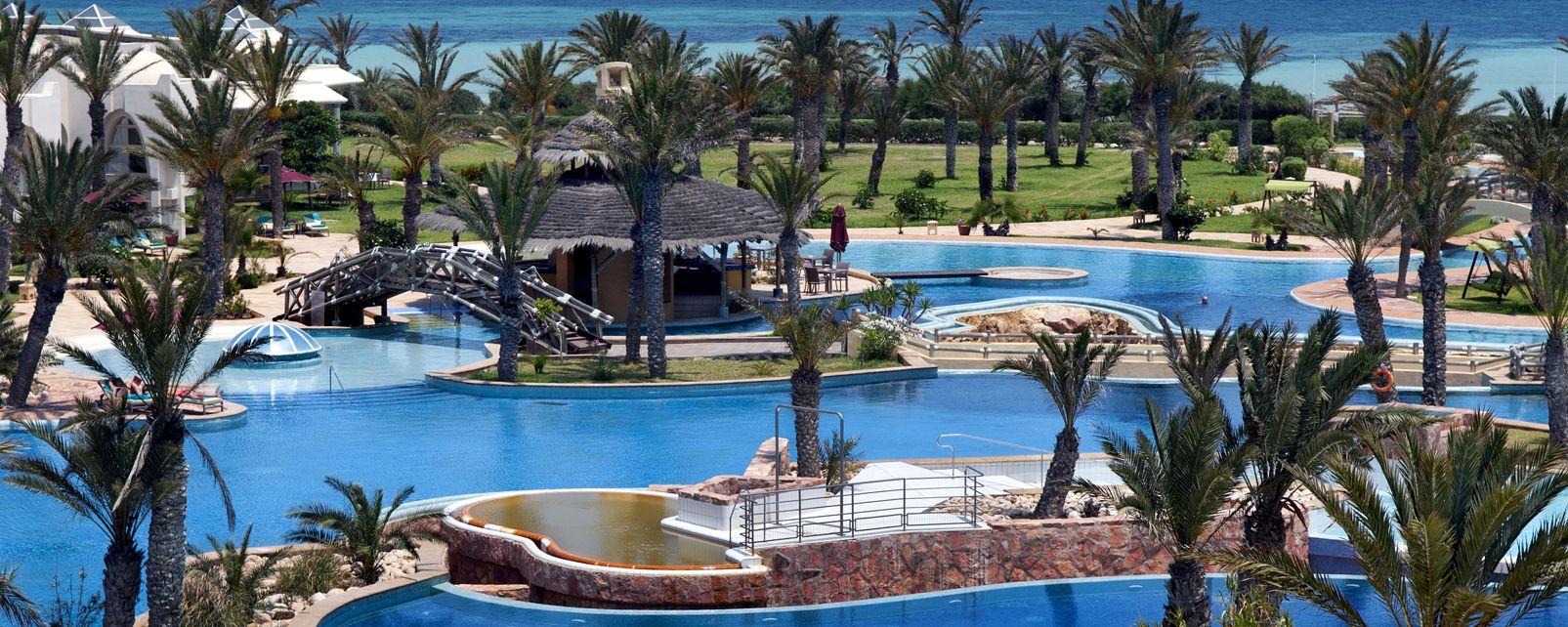 Hotel hasdrubal prestige thalassa spa djerba in djerba for Hotels djerba