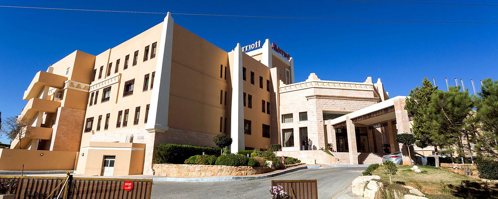 H tel marriott petra petra jordanie for Hotels jordanie
