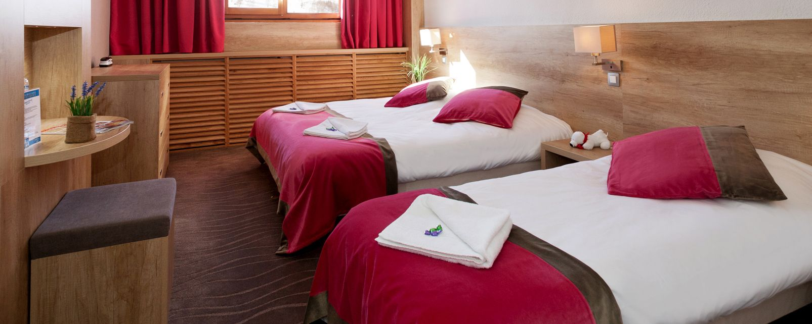 h tel club mmv les deux alpes le panorama. Black Bedroom Furniture Sets. Home Design Ideas