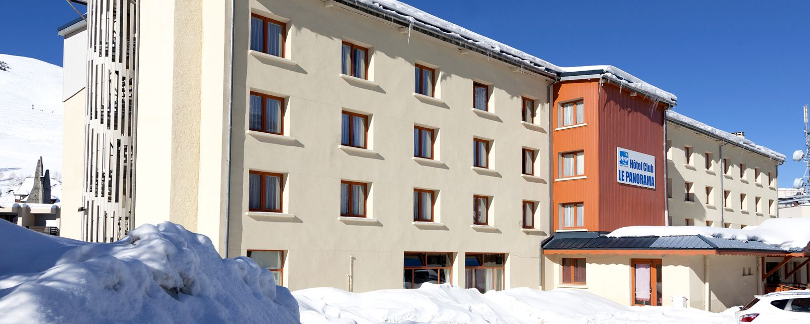 h tel club mmv les deux alpes le panorama les deux alpes france. Black Bedroom Furniture Sets. Home Design Ideas