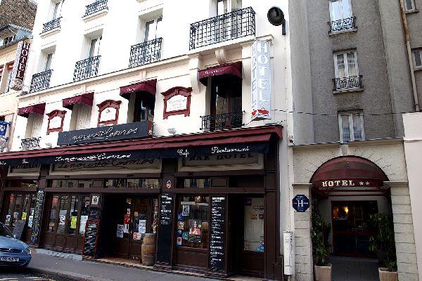 Hotel De La Perdrix Rouge Hotel Paris