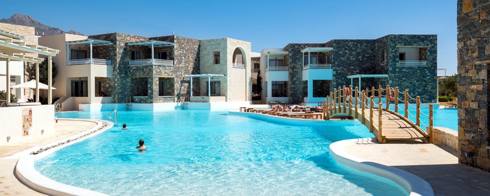 H tel club jet tours ostria beach ier petra gr ce for Hotels tours