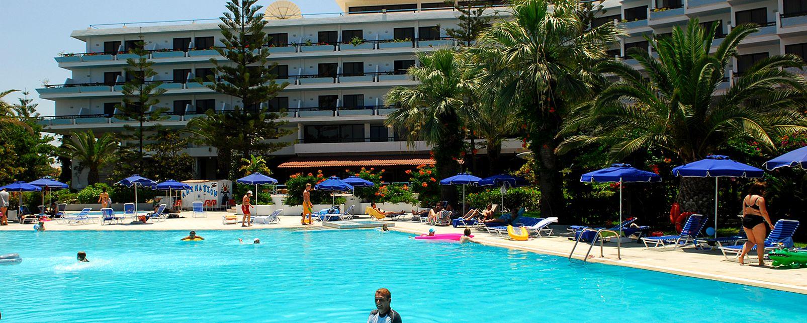 Blue Horizon Palm Beach Hotel Rhodos