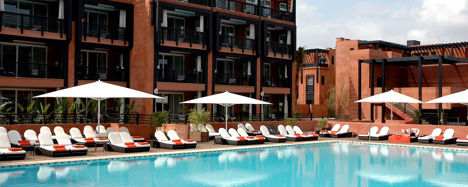 Hotel le naoura barriere in marrakech morocco for Hotels barriere