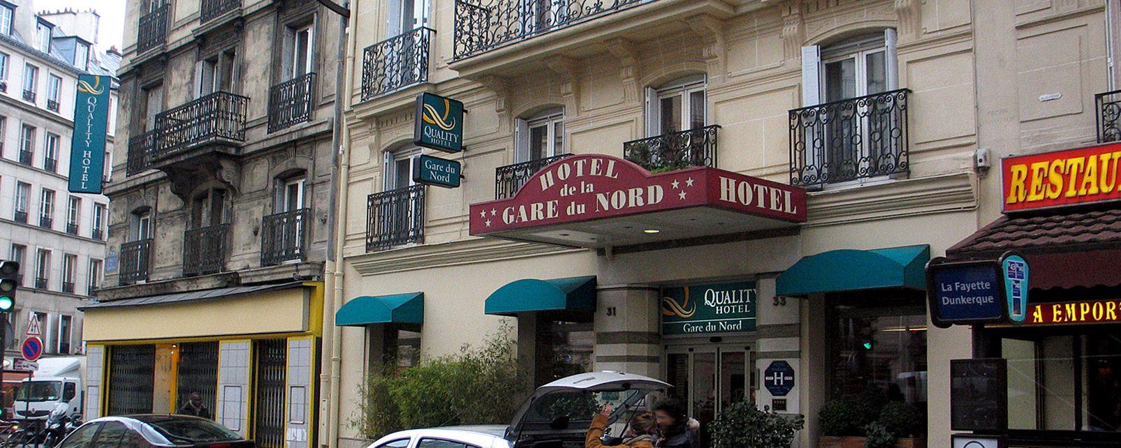 hotel quality gare du nord in. Black Bedroom Furniture Sets. Home Design Ideas