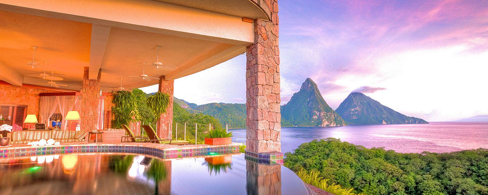 Hôtel Jade Mountain