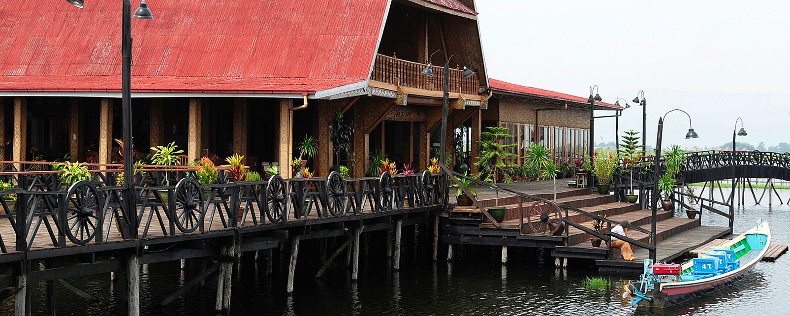 Hôtel Golden Island Cottages Nampan