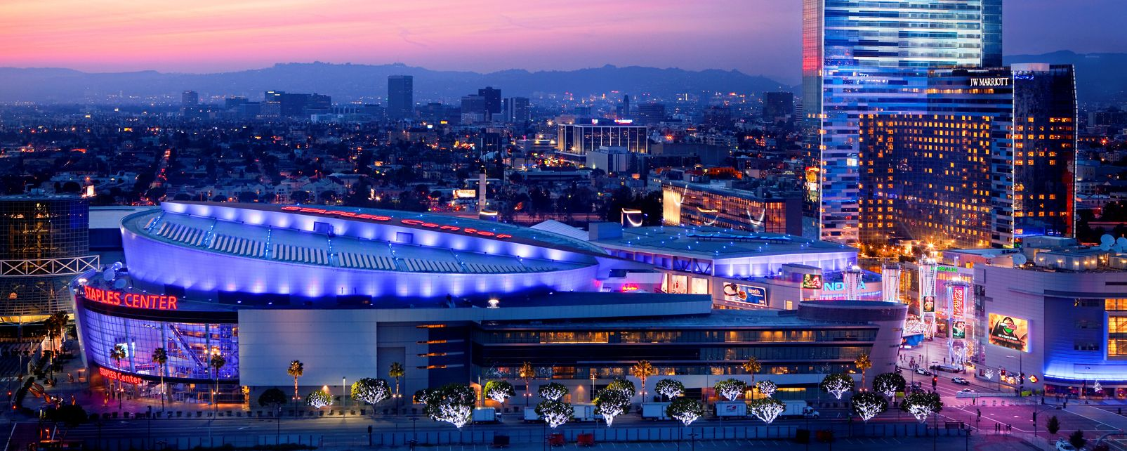 Hôtel JW Marriott Los Angeles L A LIVE