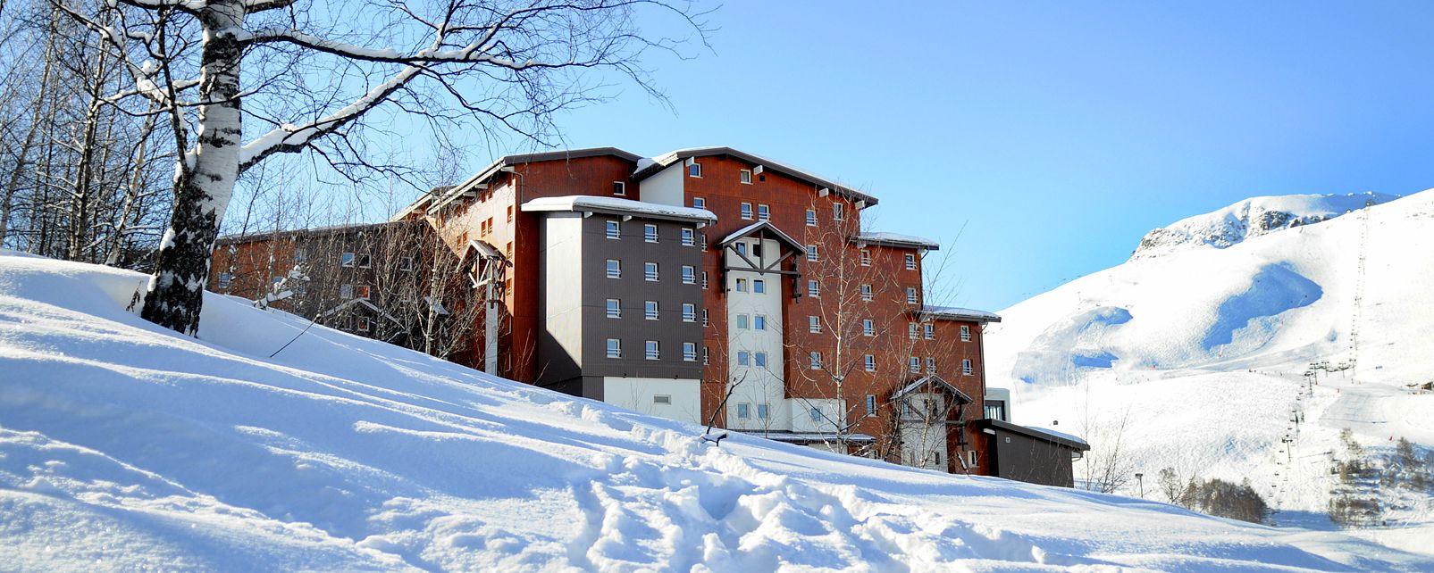 H tel club med les deux alpes les deux alpes france for Hotels 2 alpes