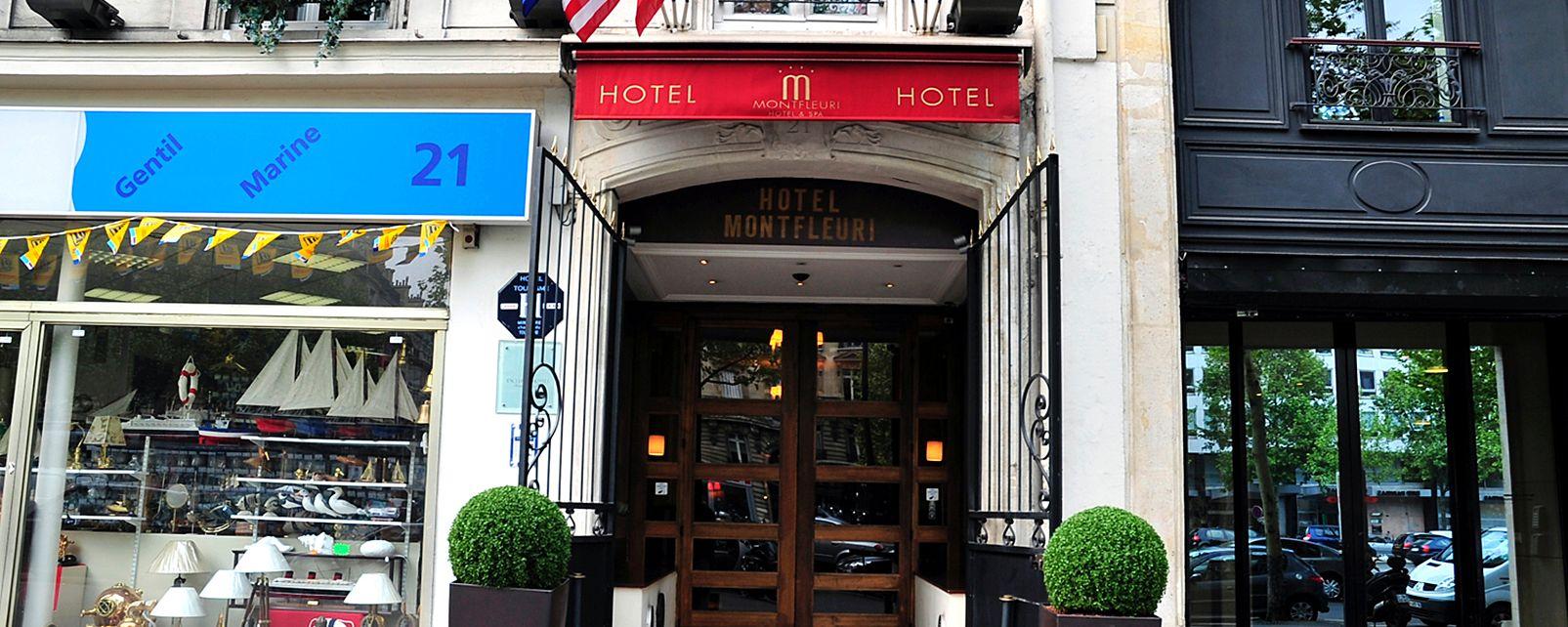 Hôtel Exclusive Montfleuri Arc de Triomphe