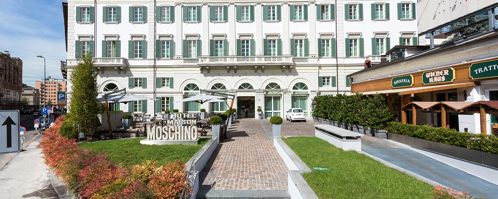 H tel maison moschino milan italie for Maison moschino milan