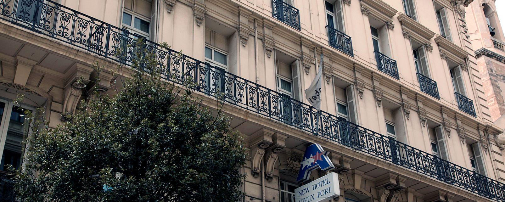 Hôtel New Hotel Vieux Port