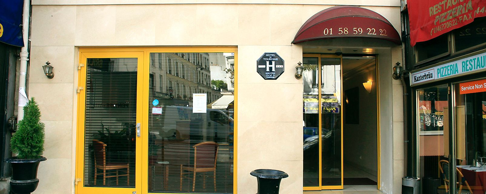 Hôtel 121 Paris