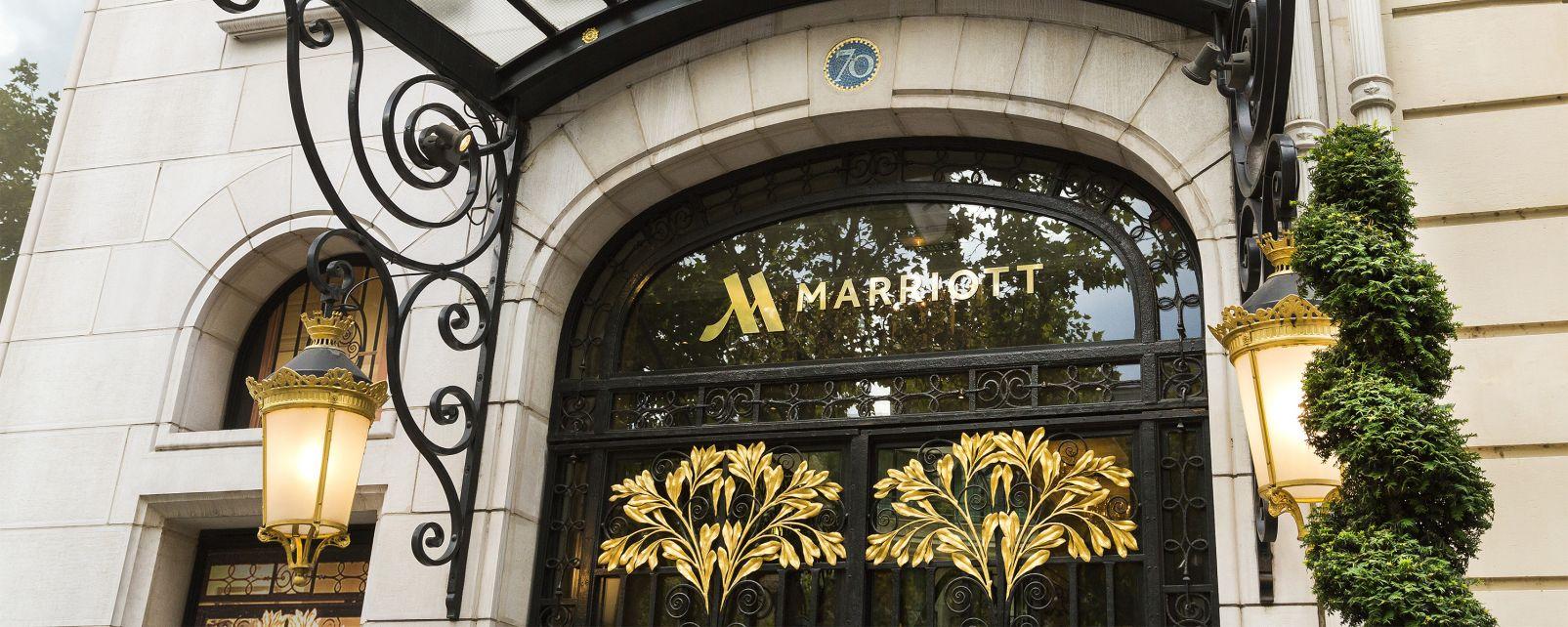 Hôtel Marriott Champs Elysees