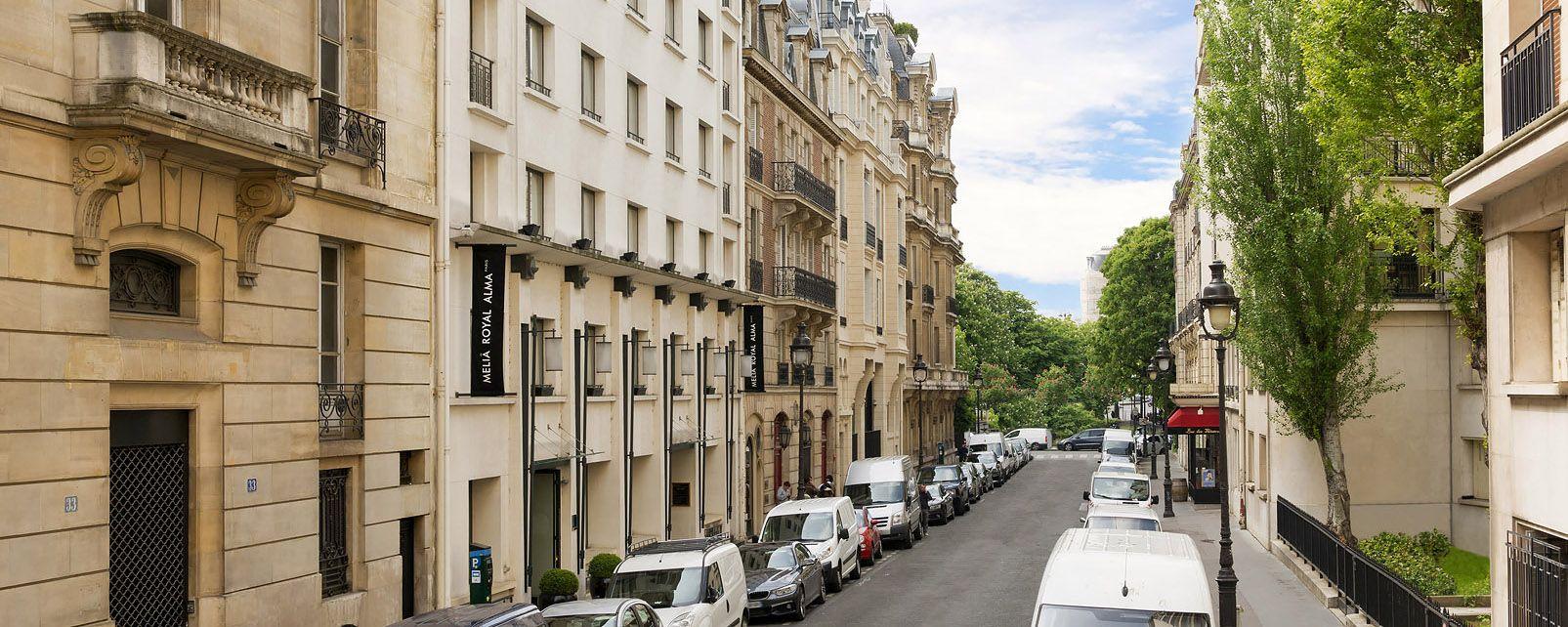 Hotel Melia Rue Jean Goujon