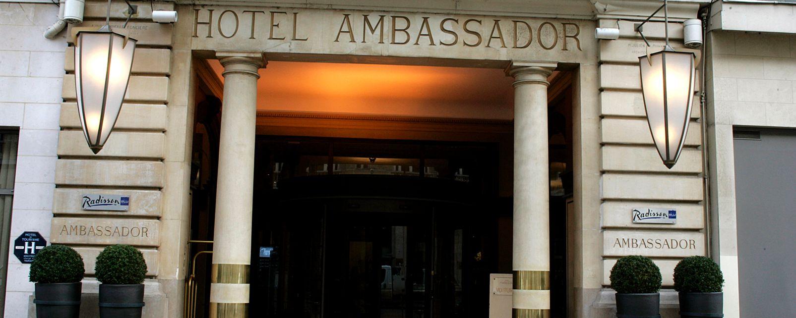 H Tel Paris Marriott Opera Ambassador