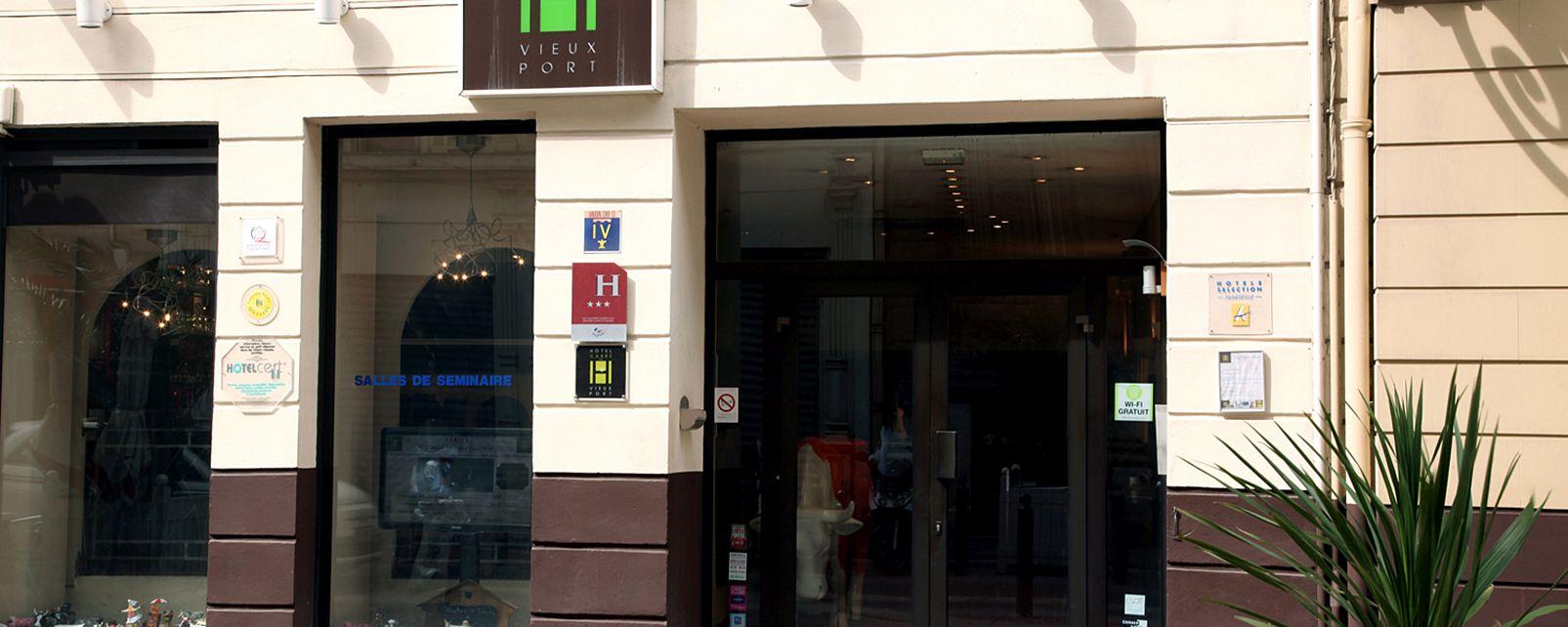 Hôtel Hôtel Carre Vieux Port Marseille