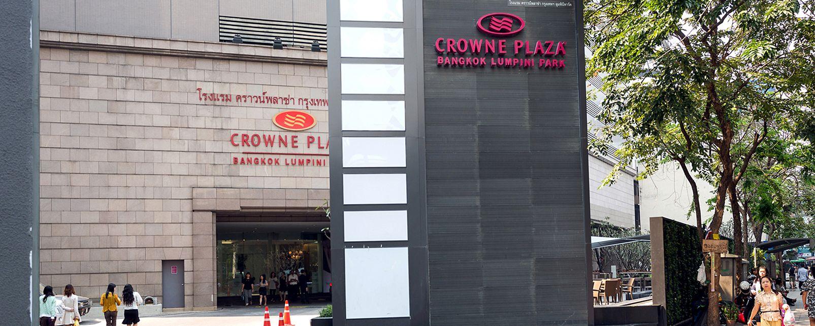Hotel Crowne Plaza Bangkok Lumpini Park