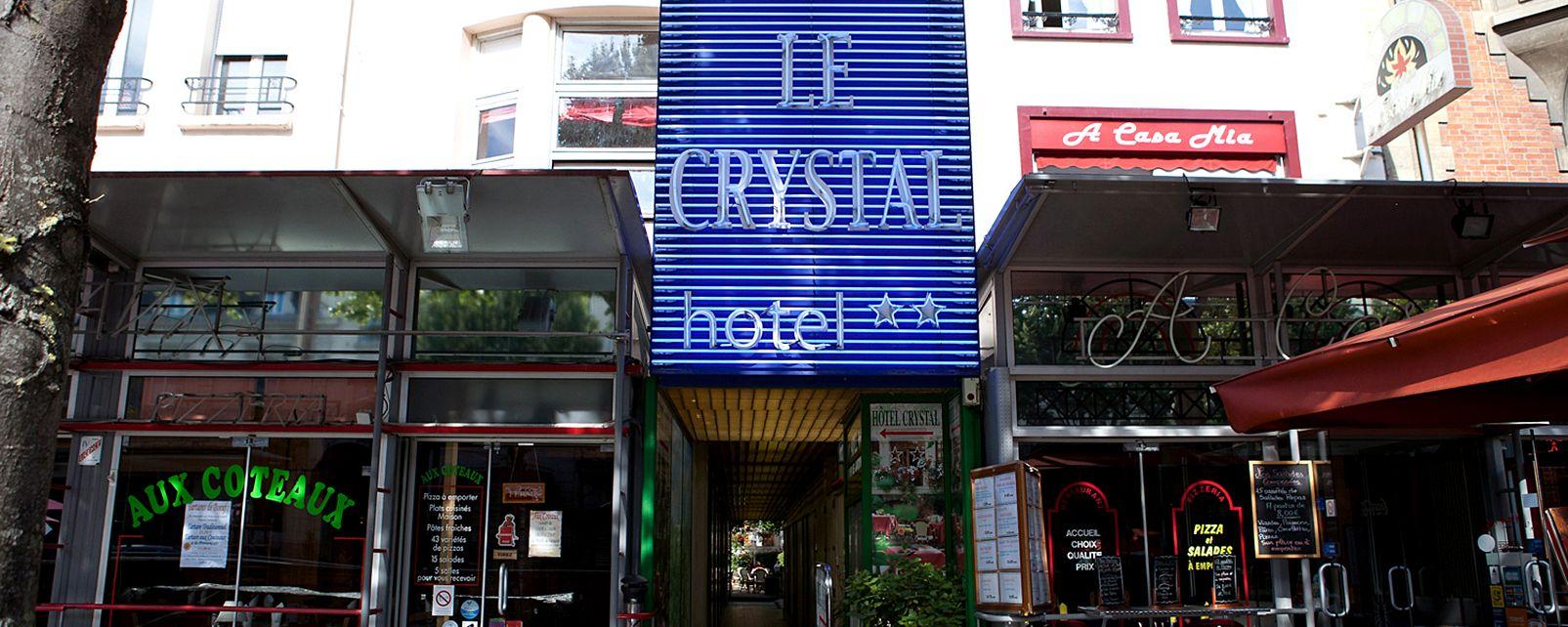 Hôtel Hôtel Le Crystal