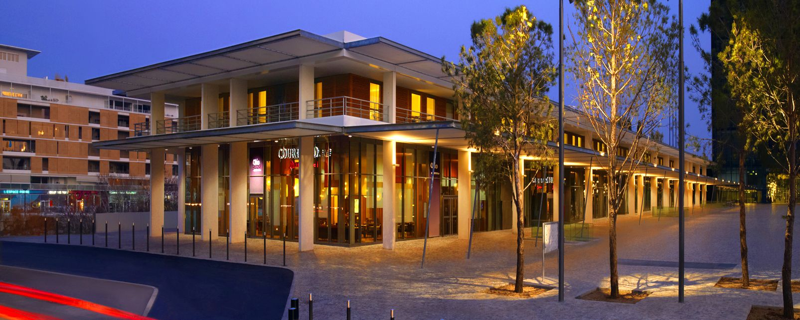 H tel marriott courtyard montpellier france for Hotels montpellier
