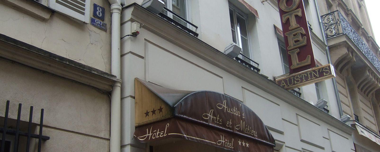 Hotel Austin's Arts et Metiers