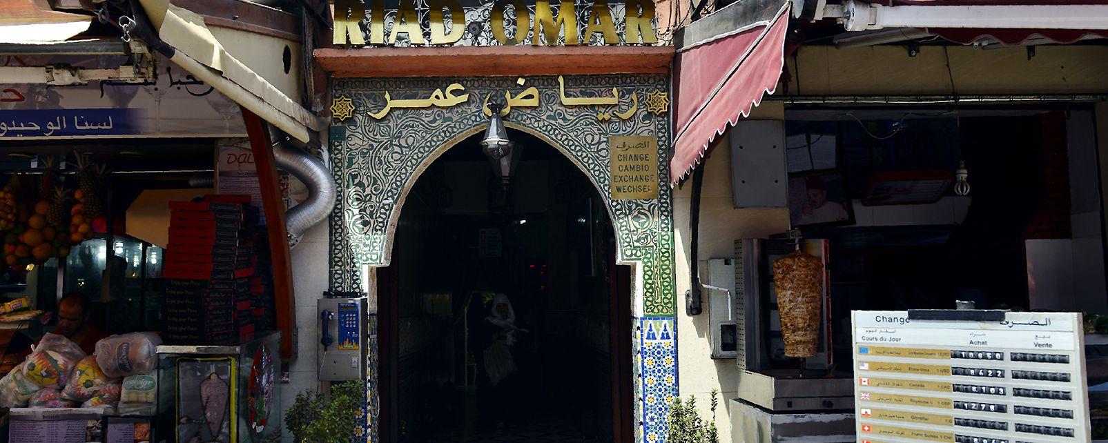 Hotel Riad Omar, Marrakech