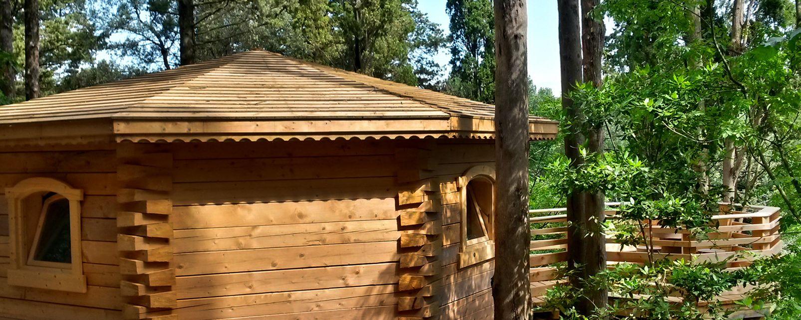 Hôtel Les Cabanes dans les Bois