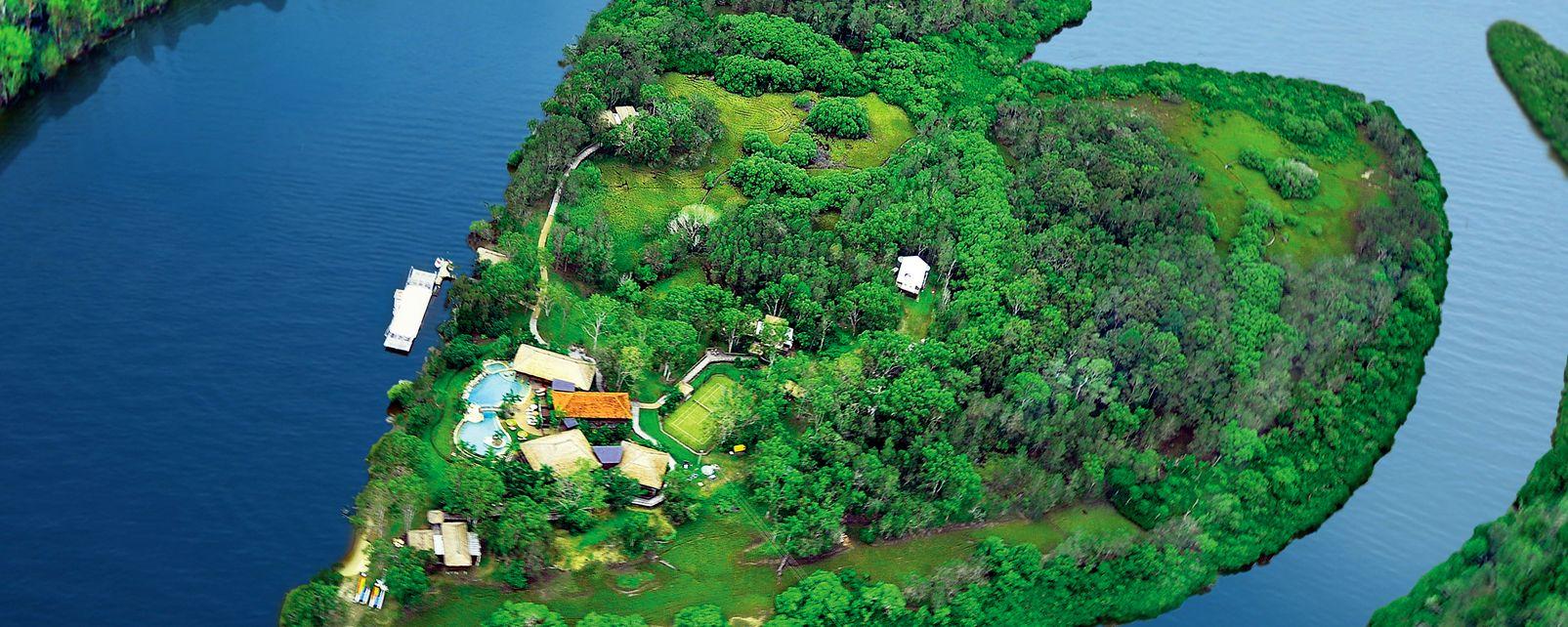 Hôtel Makepeace Island