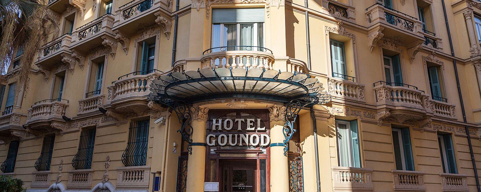 Hotel Gounod Hotel Nice