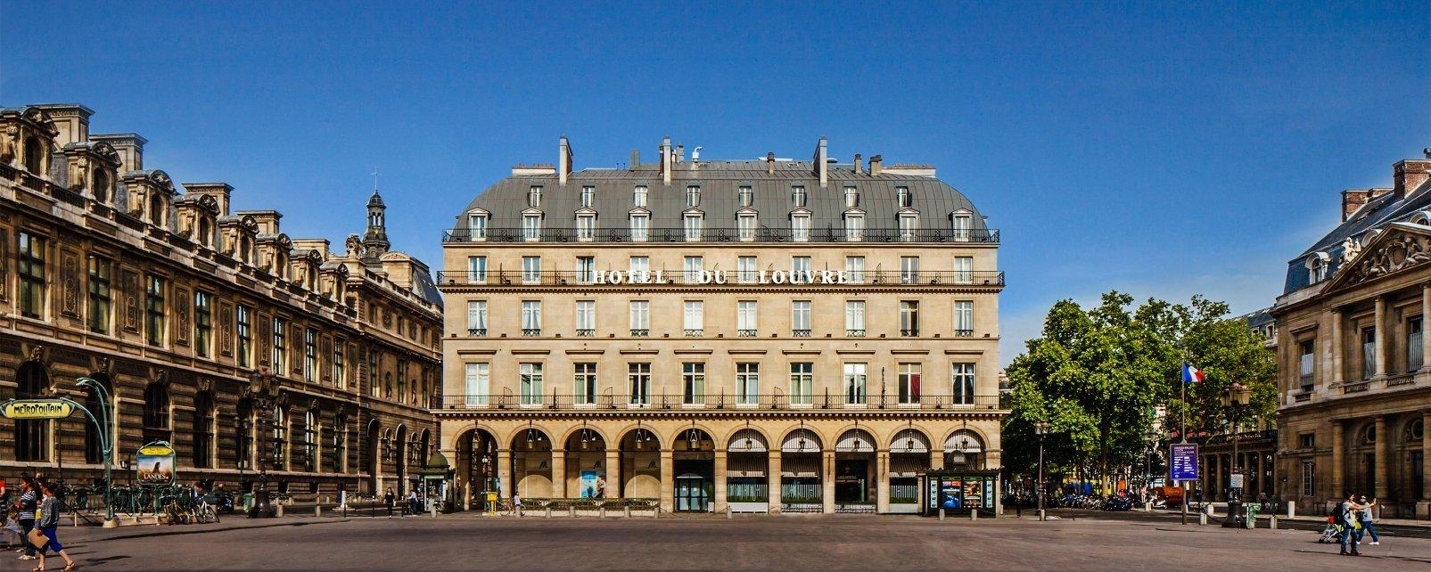 Hotel Du Louvre Hotel Paris
