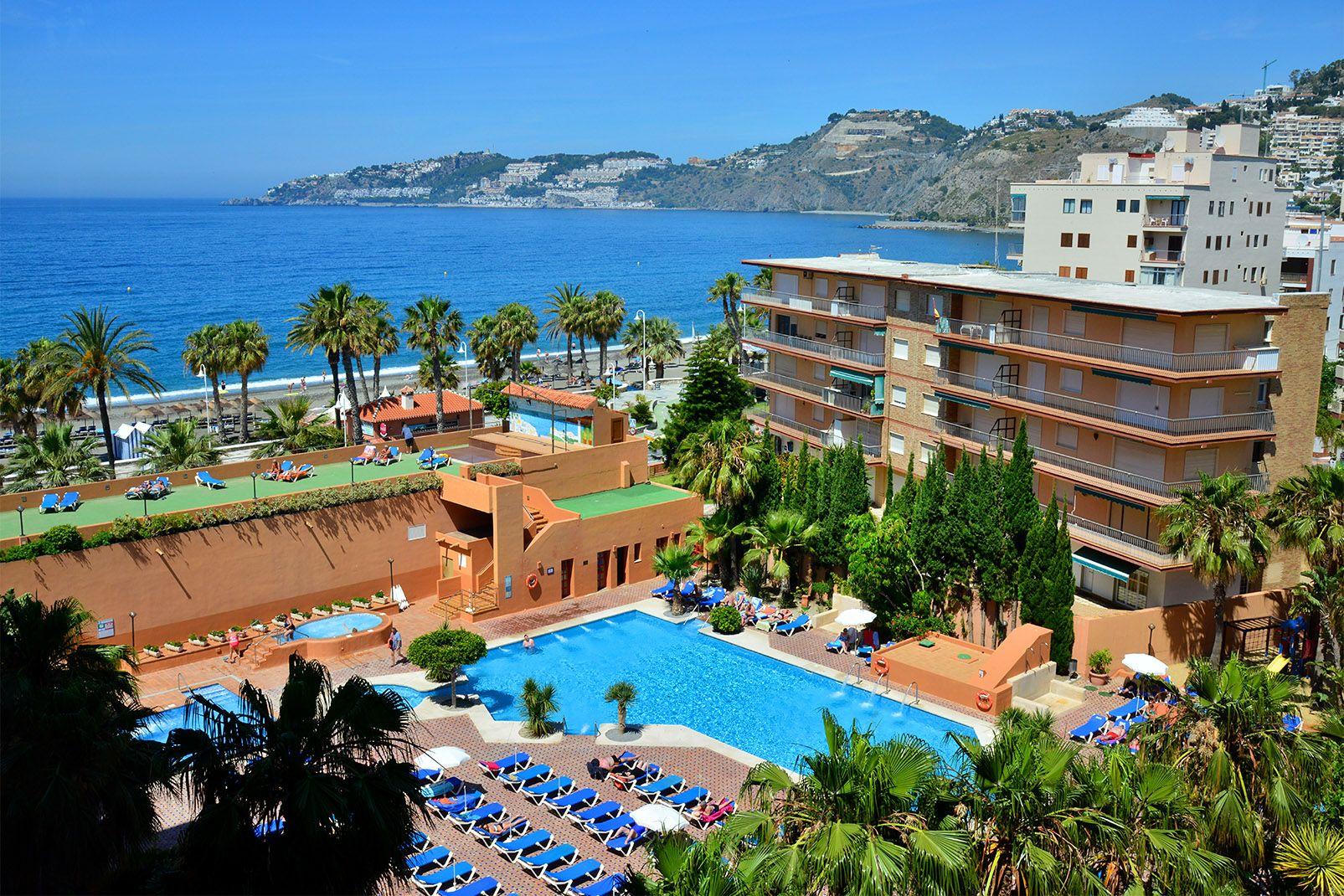 Carte Espagne Andalousie Almunecar.Sejour Espagne Top Clubs Almunecar Playa 4 Malaga Region