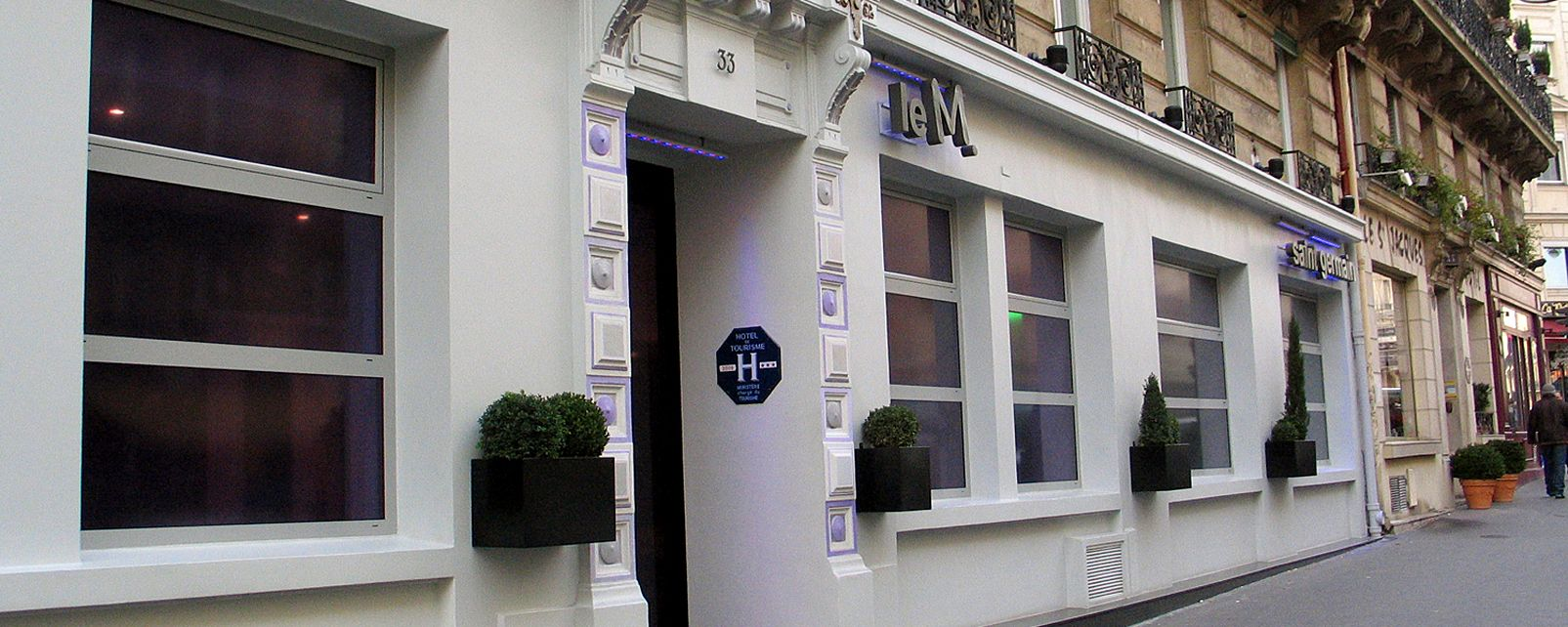 Hotel moderne st germain paris for Hotel moderne paris