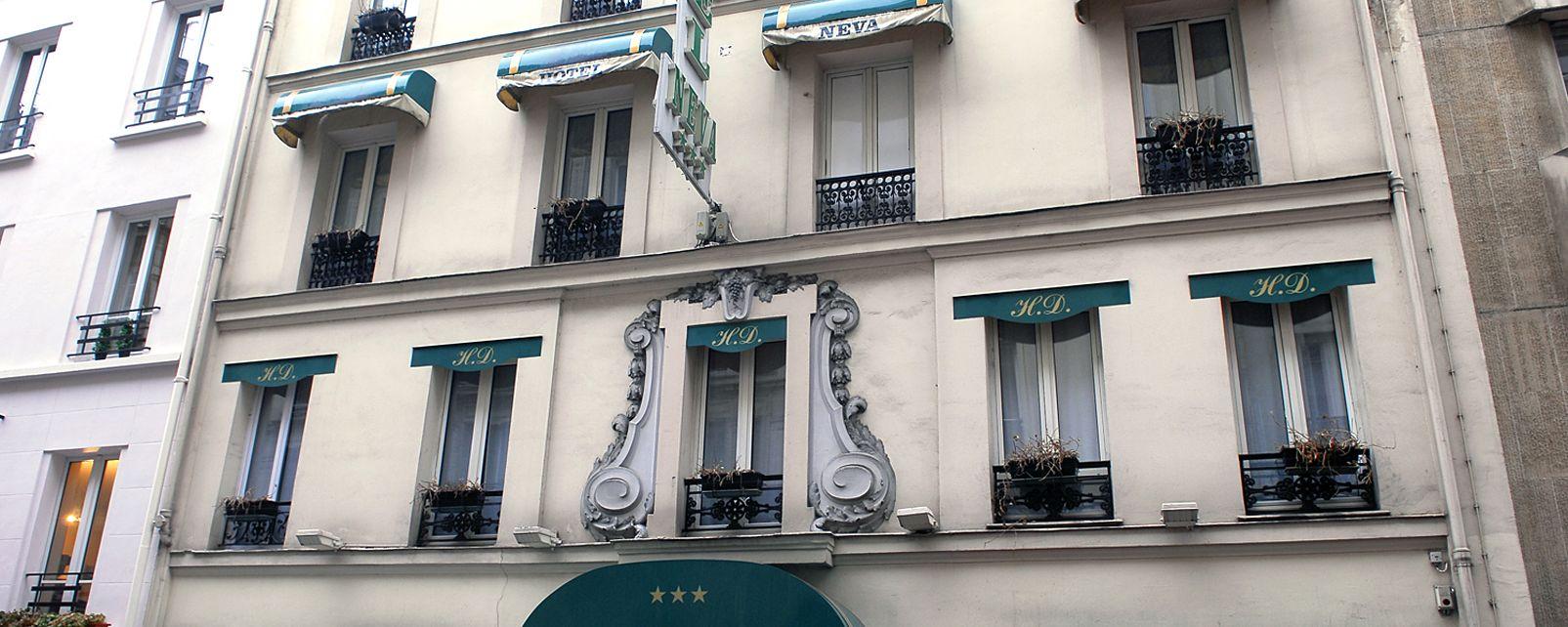 Hotel neva paris frankreich for Frankreich hotel paris