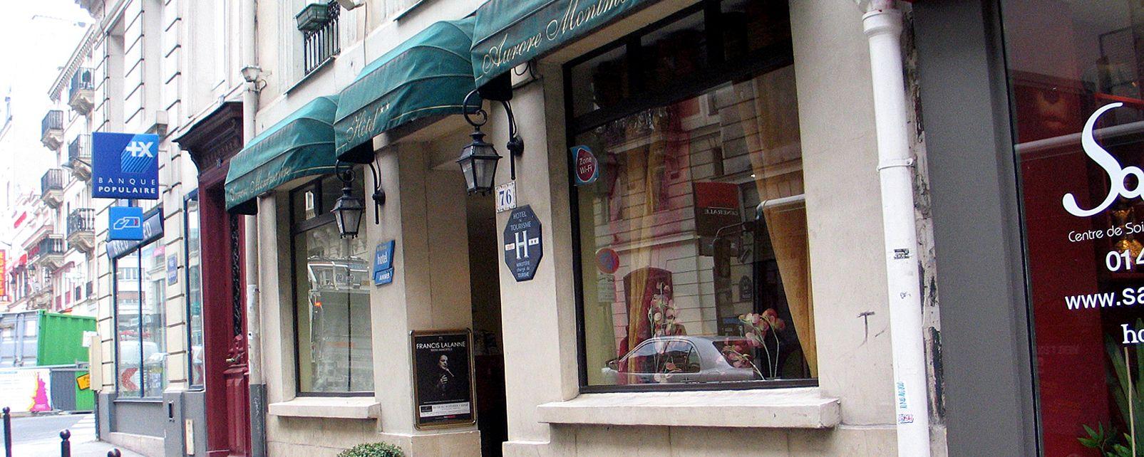 Hotel Aurore Montmartre
