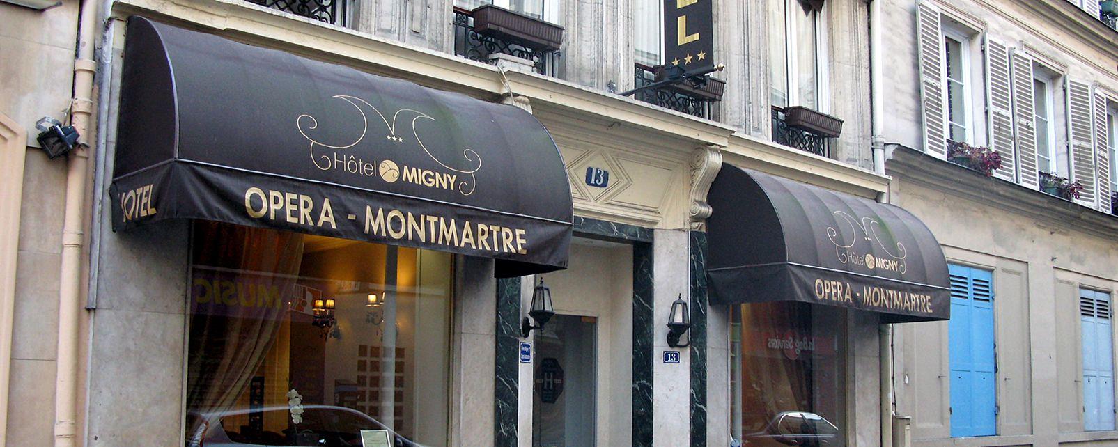 Migny Opera Montmartre Hotel Paris France
