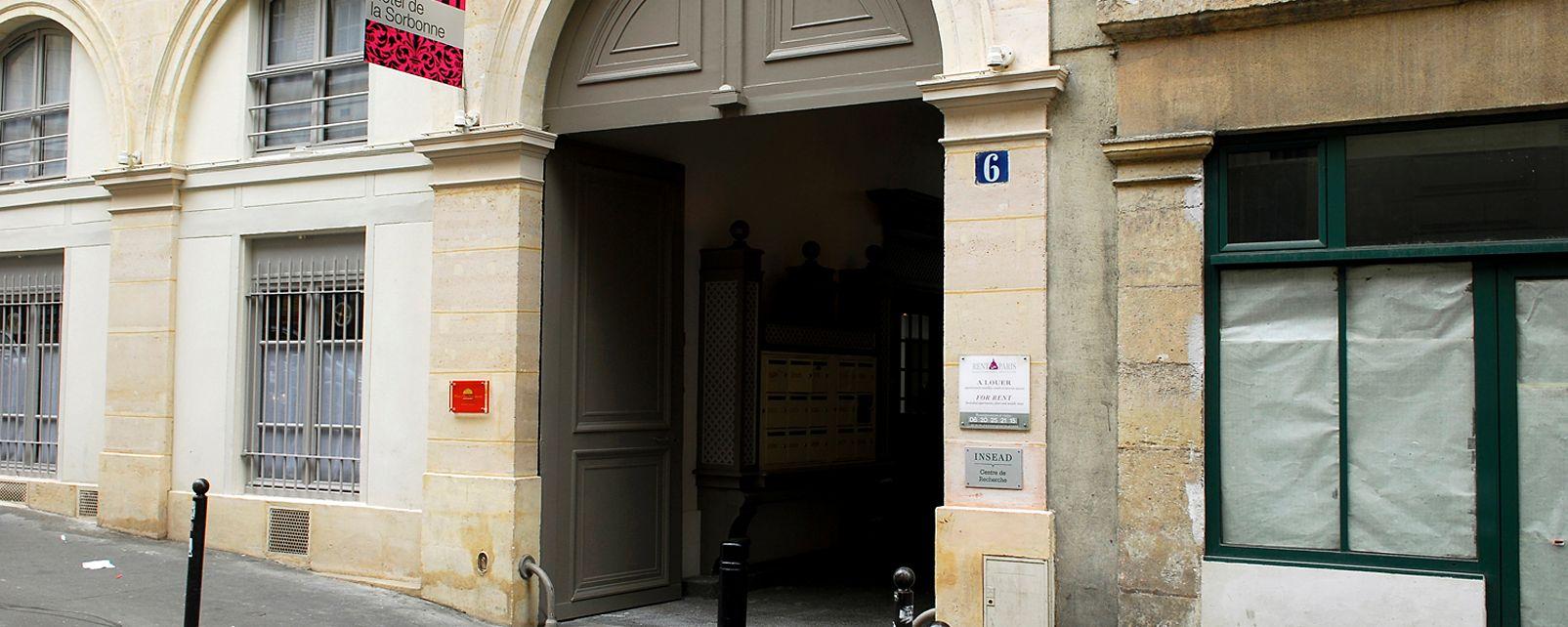 H tel de la sorbonne paris for Hotel de la sorbonne