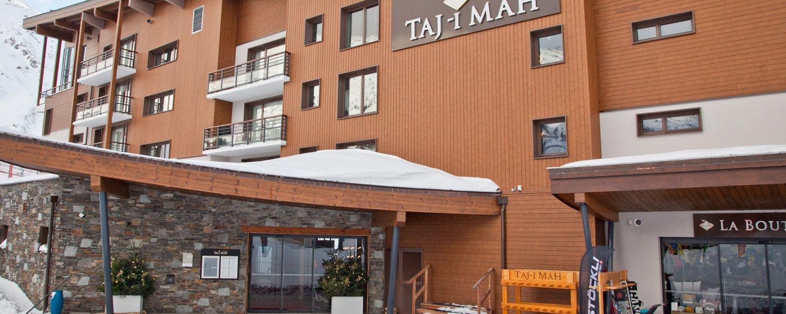 Hôtel Hôtel Taj-I Mah