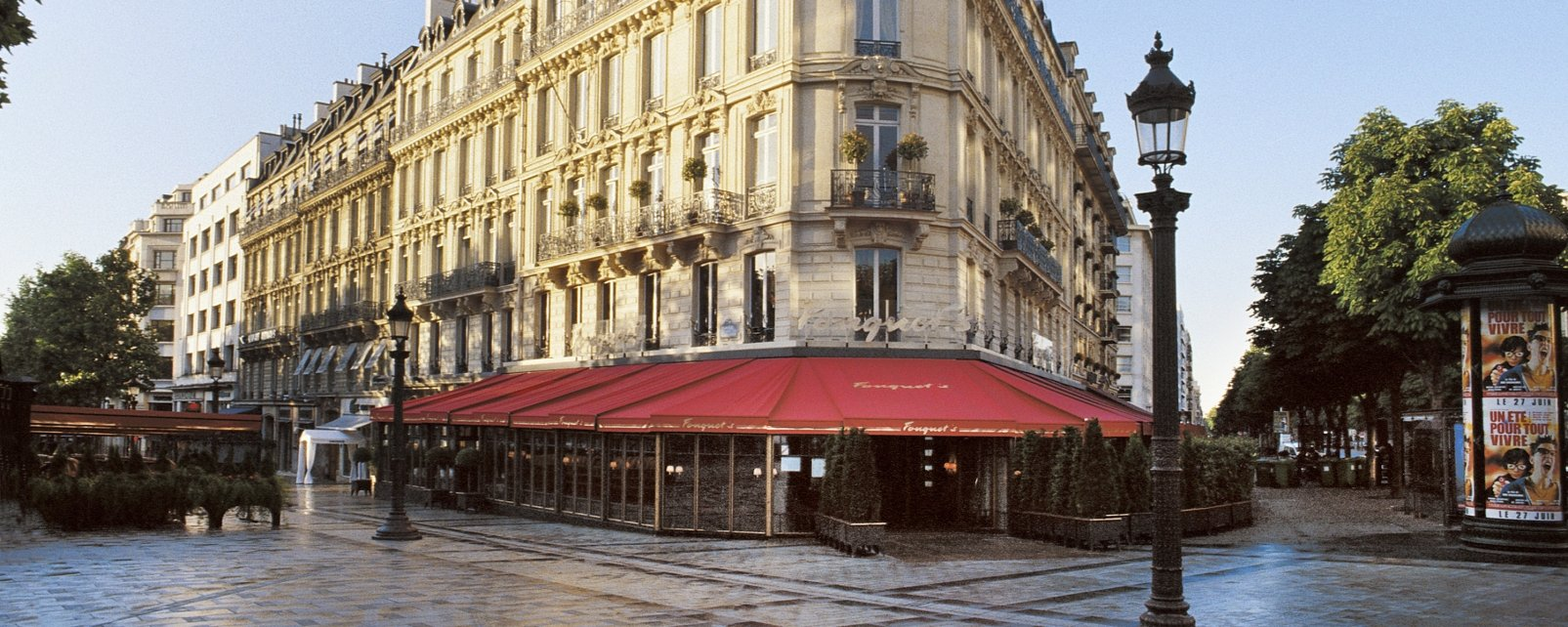 Hotel barri re le fouquet 39 s paris in paris france for Hotels barriere