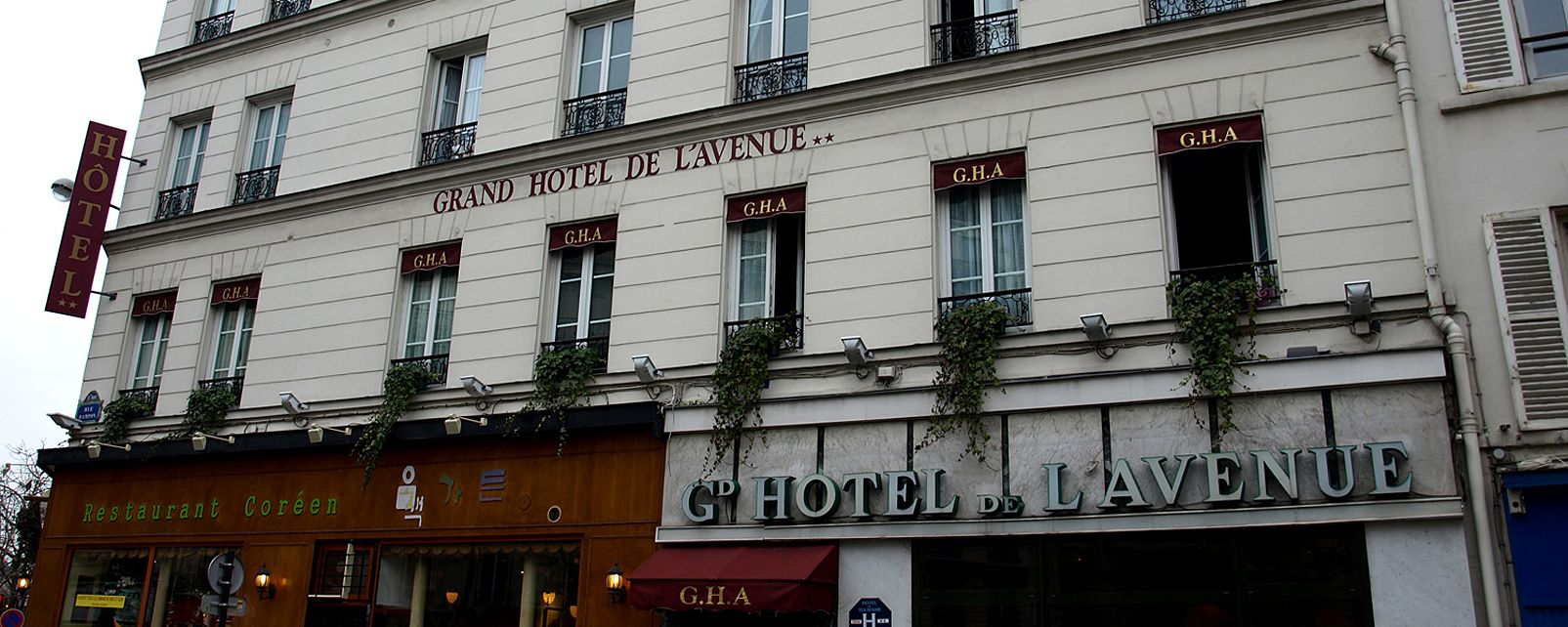 Hotel Grand Hotel De L'Avenue Paris